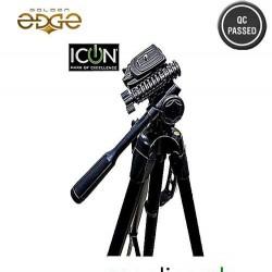 Icon Two In One (Mono Pod+Tripod) Tripod 7863 Professional Edition For Video