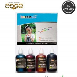 Ink Imacolor 100ml 4 Color Bottles For Epson HP Brothers Canon