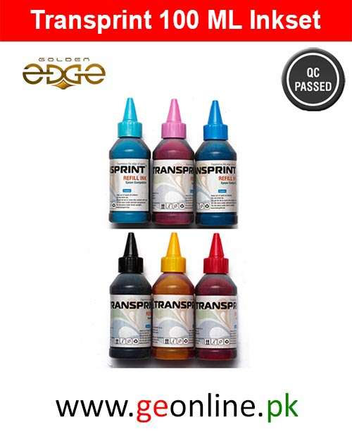Ink Transprint 100ml 6 Color Bottles For Epson HP Brothers Canon