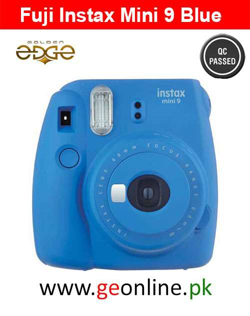 Fujifilm Instax Mini 9 Instant Camera Blue