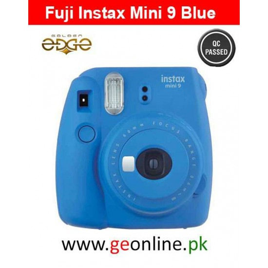 Fujifilm Instax Mini 9 Instant Camera Blue