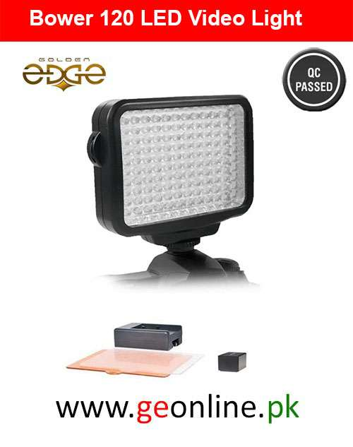 LED Bower The Digital Professional Kit for Photo and Video (120 Bulb) VL15K Wth Battery And Charger