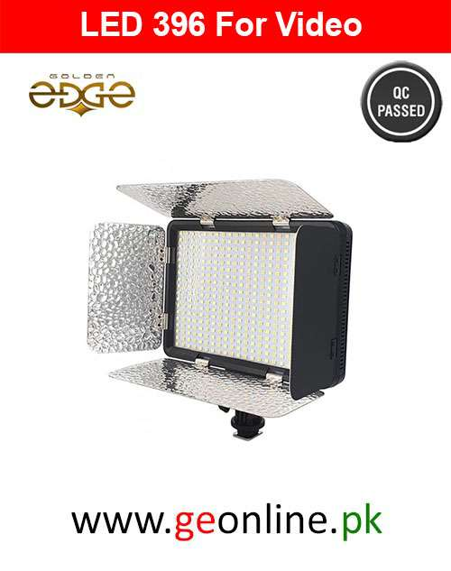 LED  396 Studio 6000K 3150LM Video Light Lamp for Canon Nikon Digital Camera