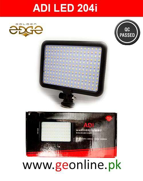 LED Video Light For HDSLR ADI 204i