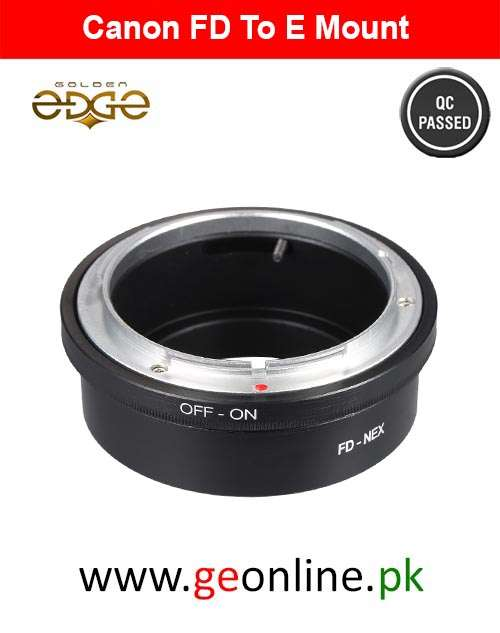 Lens Adapter Canon FD To Sony E Mount A7 A6000 A6500 A6300 A7s A7sII A7R A7RII A7II NEX 5 7