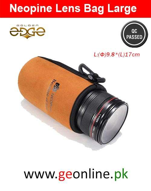 Lens Bag Large Neopine Soft Protector Pouch Bag Case