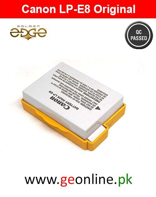 Battery Canon 550D 600D 650D 700D LP-E8 Original
