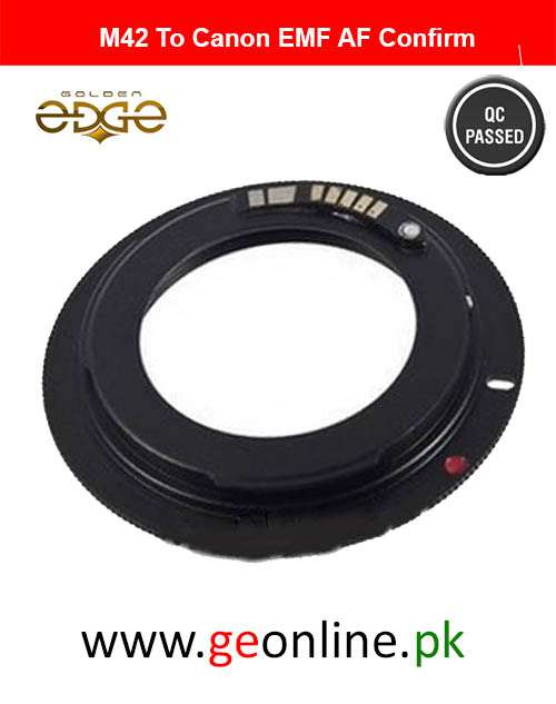 Lens Adapter M42 EMF AF Confirm  For Canon EOS EF