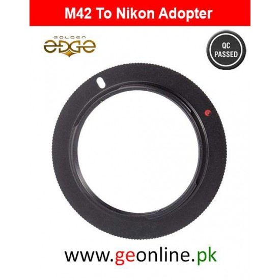Lens Adapter M42 To Nikon AI