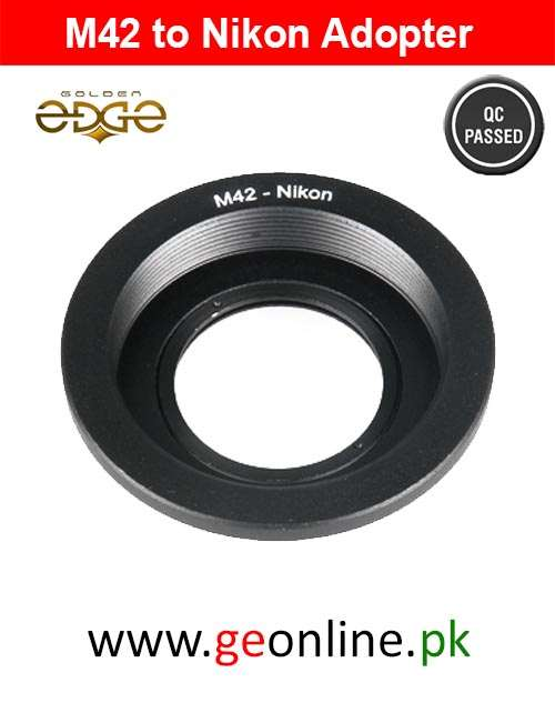 Lens Adapter M42 Lens to Nikon AI Mount Optical Adapter