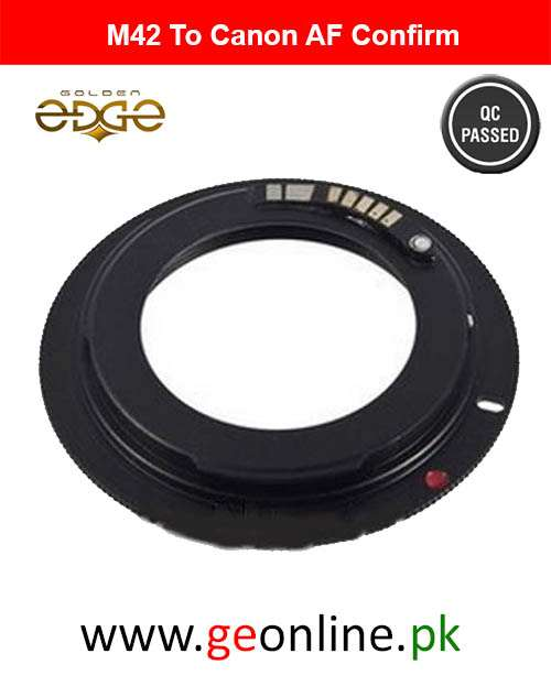 Lens Adapter AF Confirm M42 to Canon EOS EF