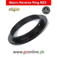 Macro Reverse Adapter Sony NEX E 49mm