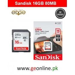 Memory Card SanDisk 16GB Card 80MB/Sec