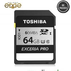 Memory Card Toshiba 64GB 60MB/Sec Exceria PRO SD