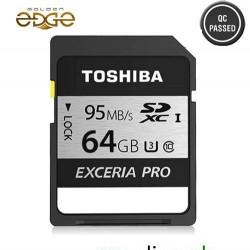 Memory Card Toshiba 64GB 95MB/Sec Exceria PRO SD