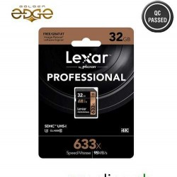 Memory Card Lexar 32GB 633x Professional SDHC 95MB/s For DSLR