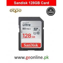 Memory Card SanDisk 128GB Card 80MB/Sec