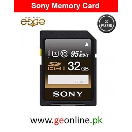 Memory Card Sony 32GB SDHC Class 10 UHS-1/U3 Memory card R:95MB/s,W:90MB/s