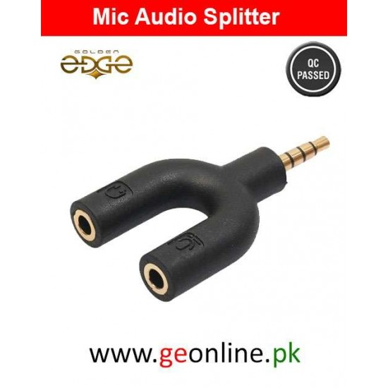 Mic Audio Splitter For Speaker And Mic