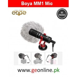 Mic BOYA BY-MM1 MM1 Compact On-Camera Video Microphone Youtube Vlogging Recording 1 Year Warranty