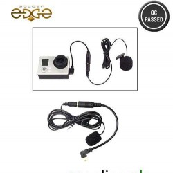 Gopro Collar Microphone Stereo For Hero 3 3+ plus 4 Sports Action Plus SJcam Camera