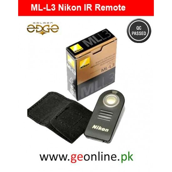 Shutter Remote Nikon ML-L3 Wireless Control (Infrared) With Bag