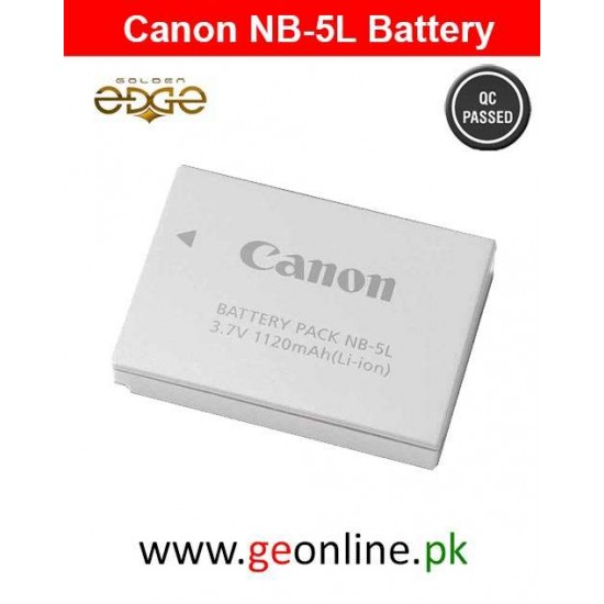 Battery Canon NB-5L For Power Shoot Cameras SD And SX Series CB-2XE