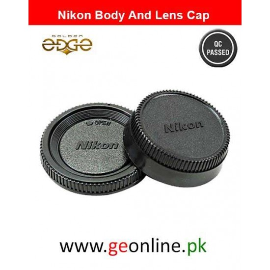 Body And Rear Lens Cap Nikon