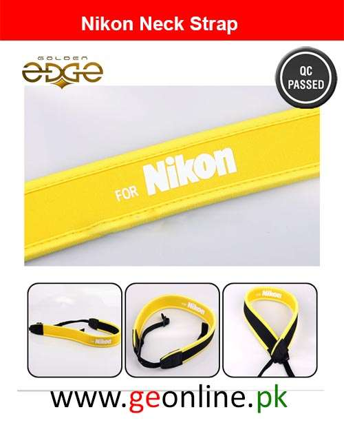 Neck Strap Nikon Luxury Neoprene Soft