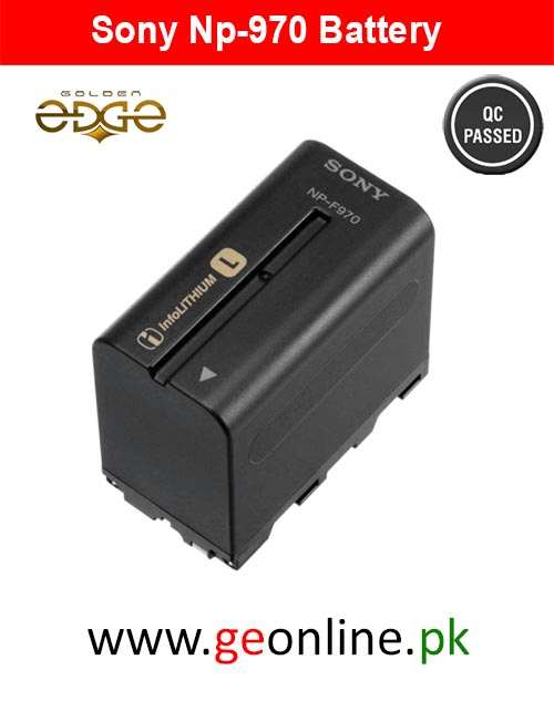 Battery Sony NP-F970 MC-2000 MC-1500 MC-2500 HD-1000