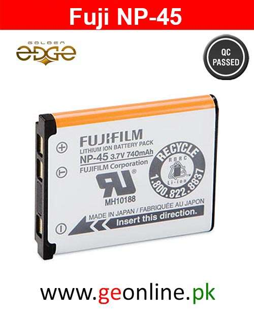 Battery Fujifilm NP-45 Lithium Ion Rechargeable