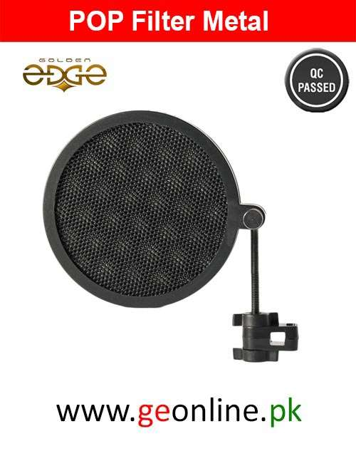 Pop Filter Metal For Studio Microphone Mic Wind Filter