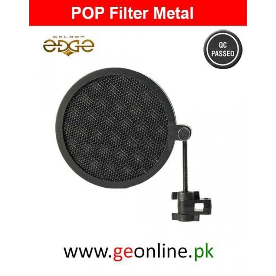 Pop Filter Metal For Studio Microphone Mic Wind Filter