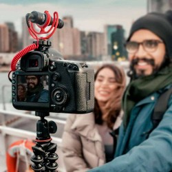 Mic Rode Video Micro Compact On-Camera Microphone with Rycote Lyre Shock Mount