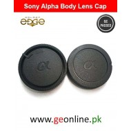 Sony Alpha Body And Lens Back Caps