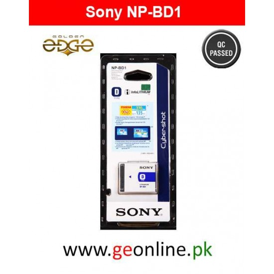 Battery Sony NPBD1 NP-BD1 Rechargeable Pack
