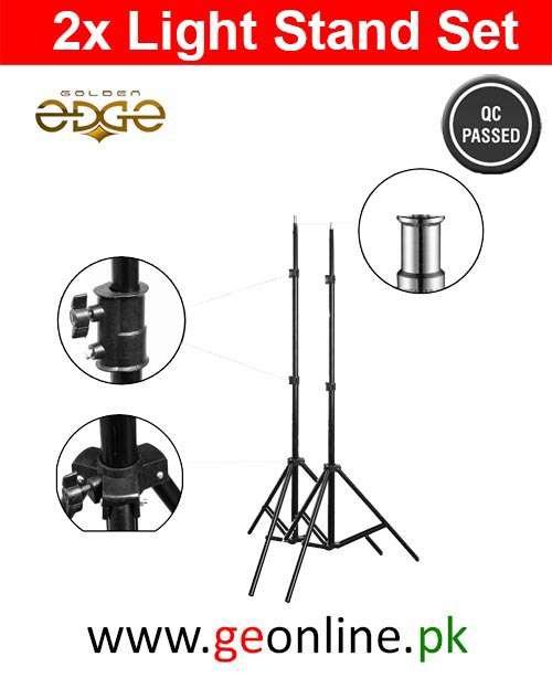 Lighting Stand Set 2PCS For Studio Light With Spring Suspension