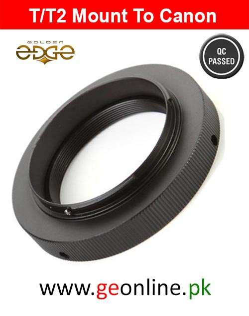Lens Adapter T/T2 mount Lens Ring For Canon EF EOS
