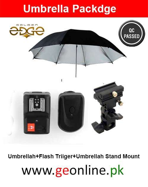 Umbrella Flash Holder+Flash Trigger+Umbrella Packdge
