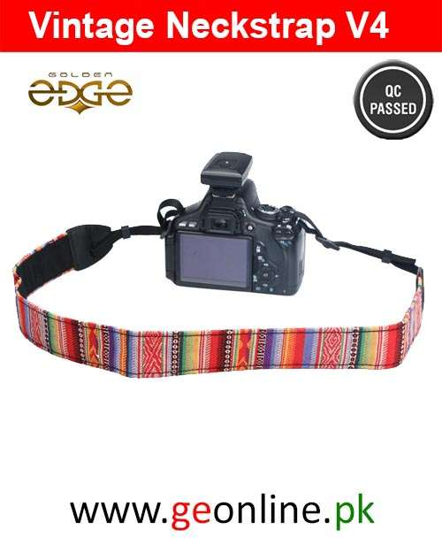 Neck Strap Vintage Fashion DSLR V4