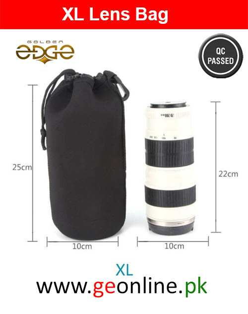 Lens Bag Extra Large Neoprene Bag Case