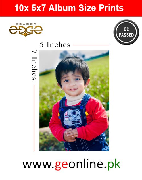 10x ( 5x7) Inch Photo Glossy  Package